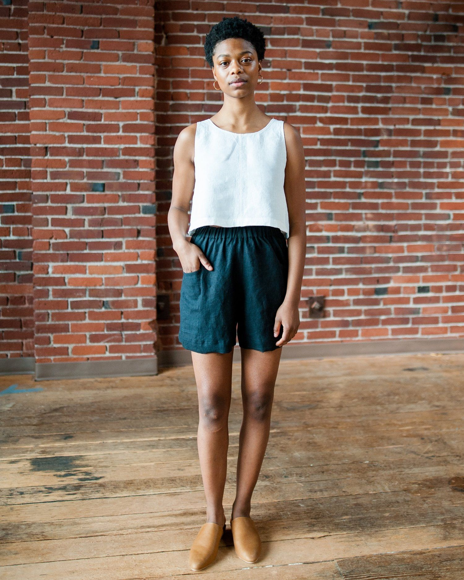 Uniform Short - Linen | Short dresses, Fashion, Linen shorts