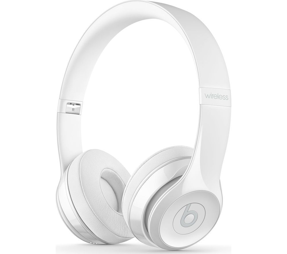 1709d77be7a68 BEATS BY DR DRE Solo 3 Wireless Bluetooth Headphones - White