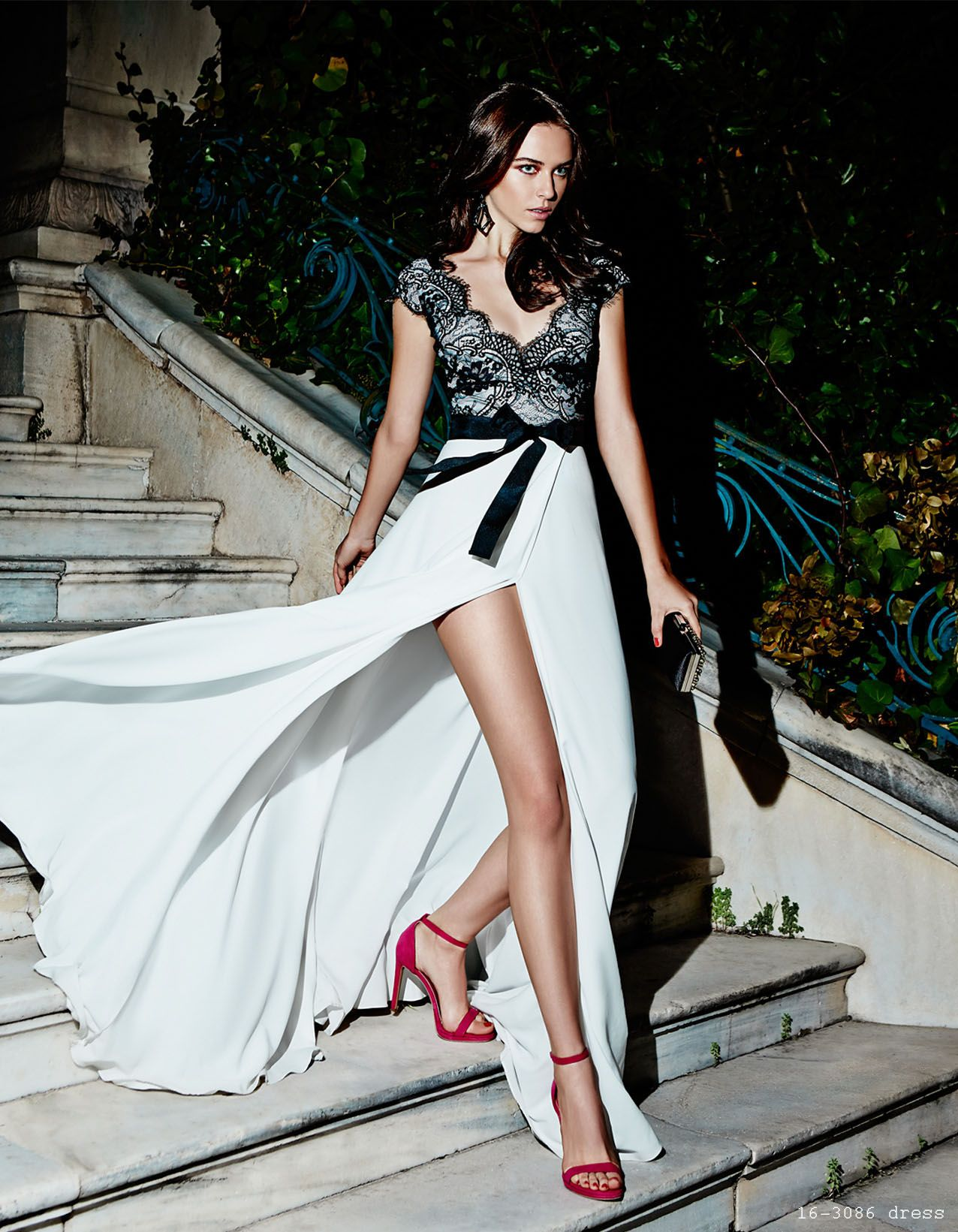 The dress access - Long Dress With Top Lace Elegant Style