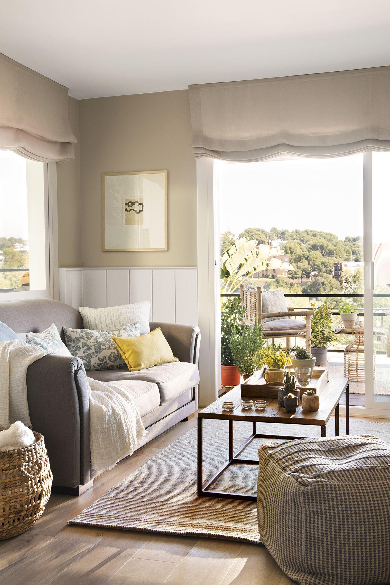 La importancia de las telas  Décoration petit appartement, Petit