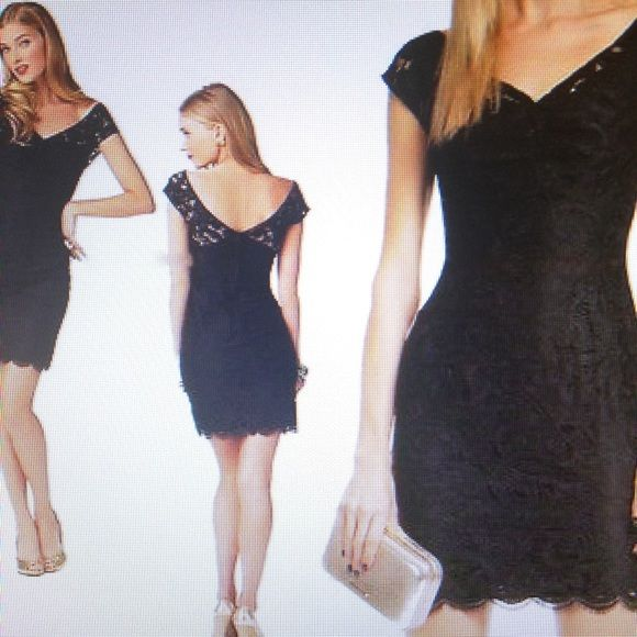 Long black dress size 0 black