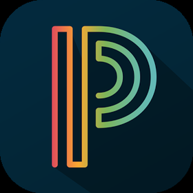 Letter P ♥ App icon design, Ios icon, App logo