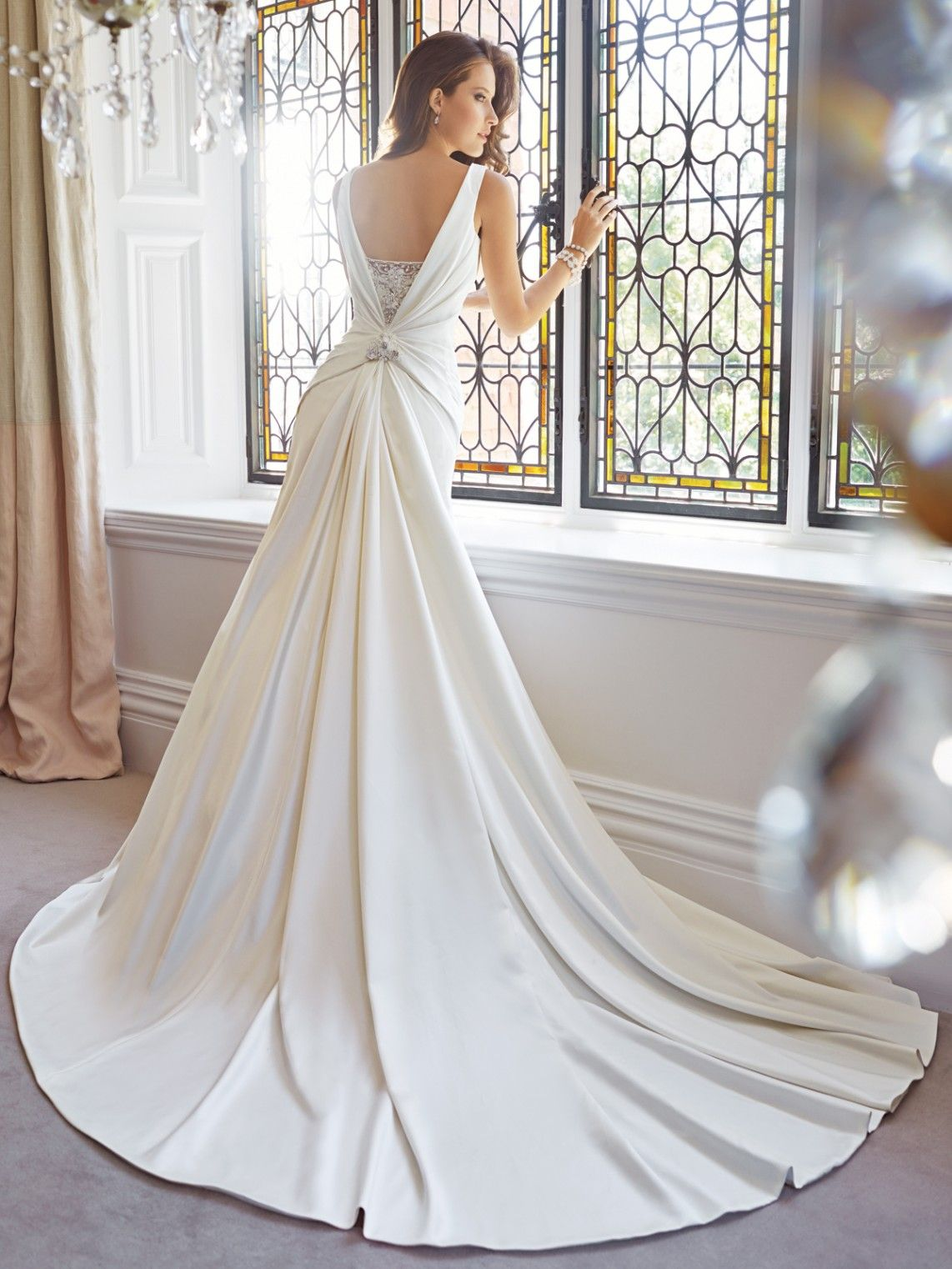 Cheerful Sophistication 25 Elegant Gray And Yellow Bedrooms: 25 The Most Gorgeous Wedding Dresses