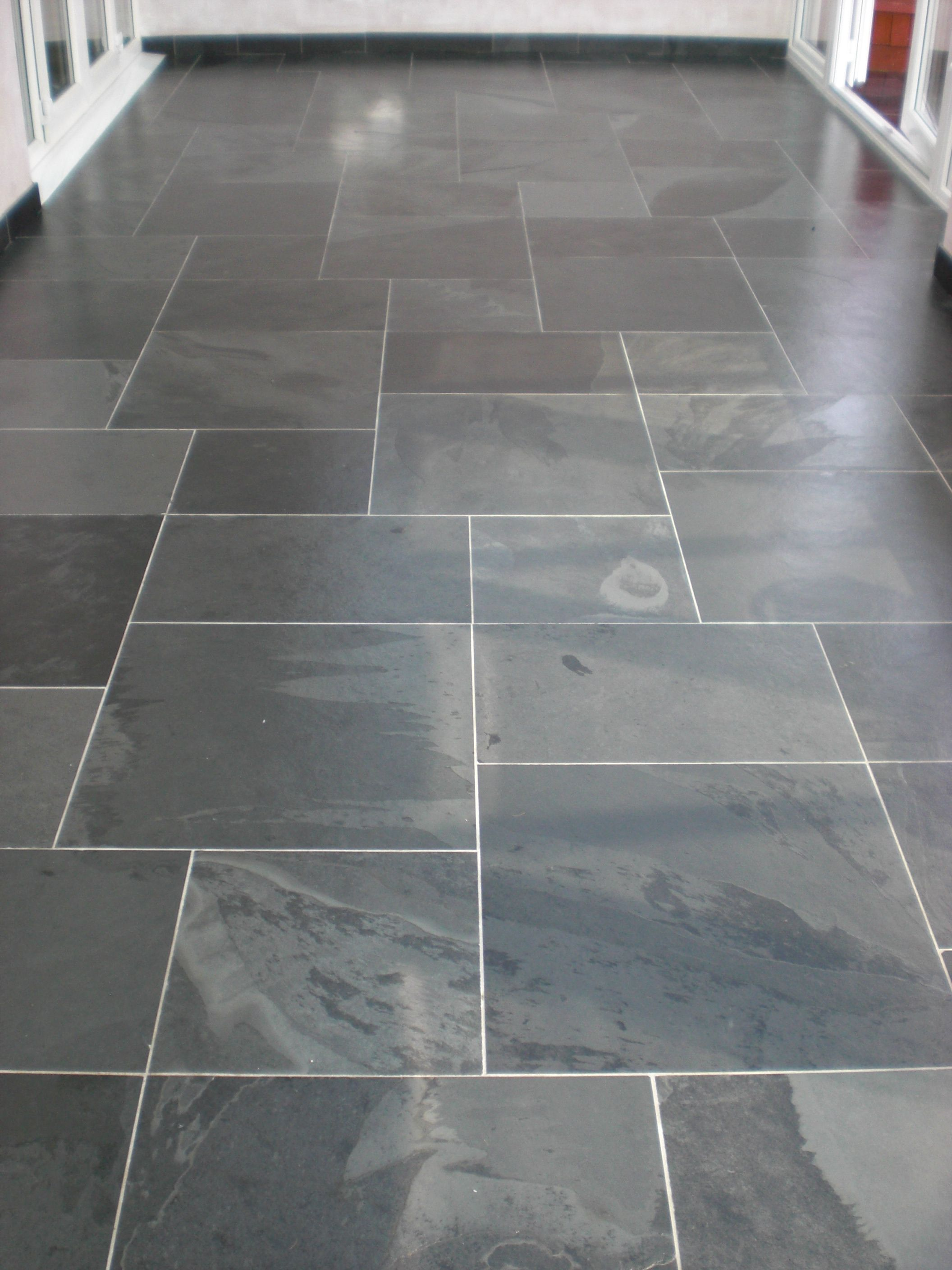 Honed Welsh Slate Floor Tiles Slate Tile Floor Tile Floor