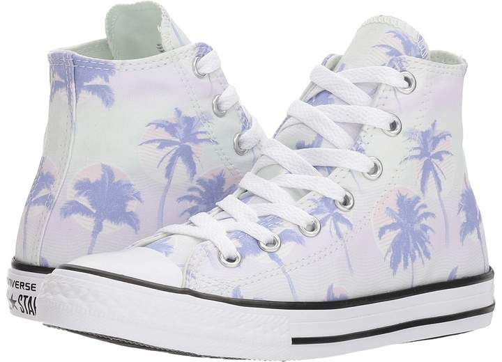 Converse Chuck Taylor All Star Palm Trees Hi Girls Shoes