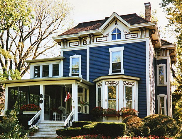 Dave S Victorian House Site Illinois Gallery Modern Victorian Homes Victorian Homes Victorian House Colors