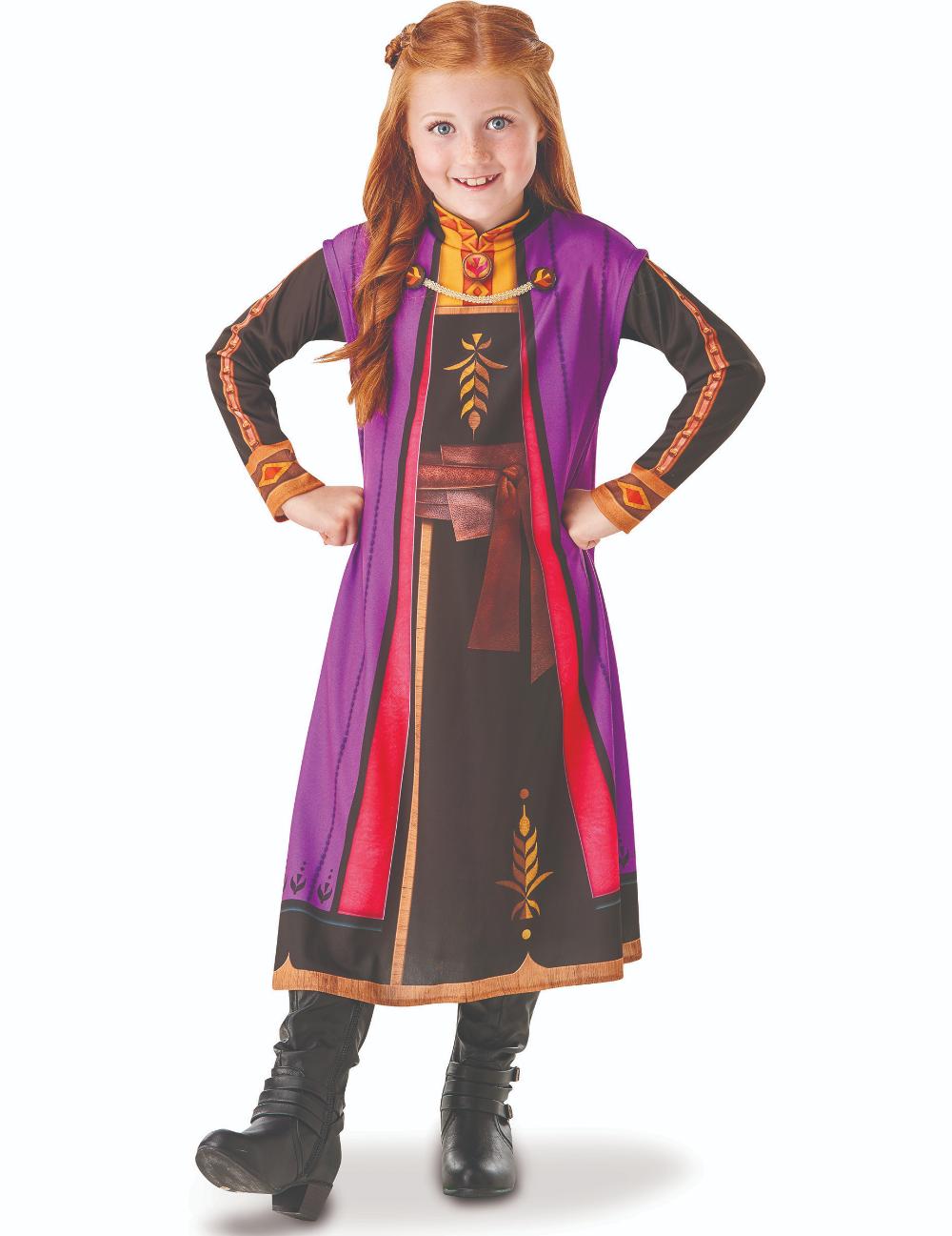 Frozen 2™ Anna Kostüm für Mädchen Disney™ Verkleidung bunt