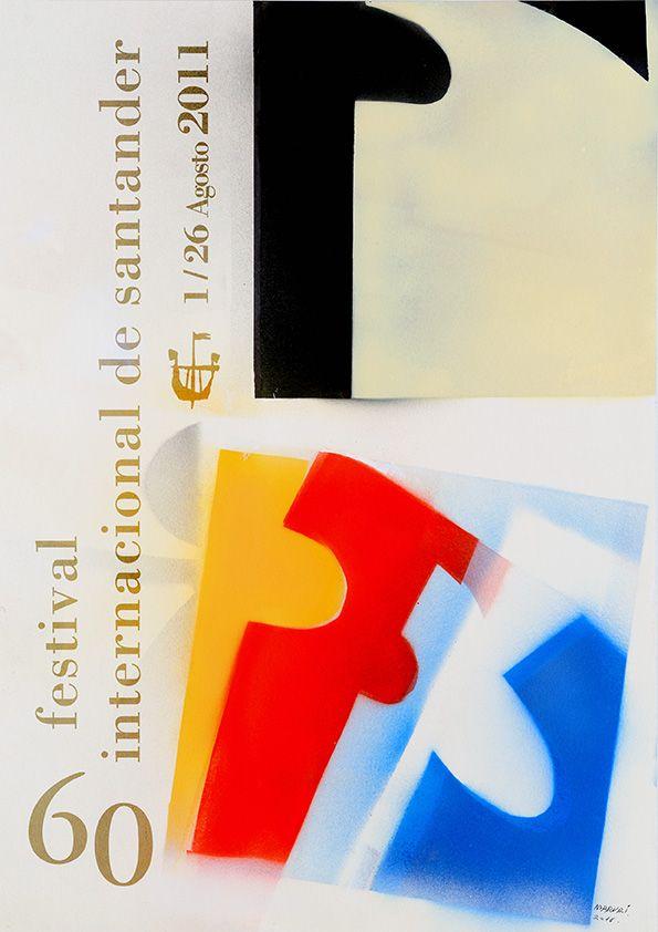 cartel festival internacional de santander 2011 - Buscar con Google