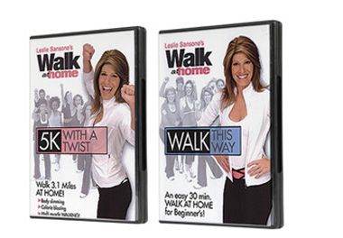 Walk at Home | Combo Walk This Way & 5K with a Twist DVDs