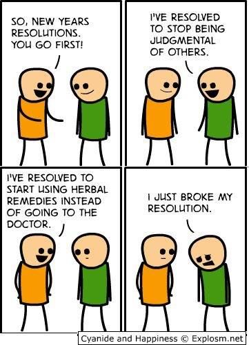 New Years Resolutions #NewYear #humor #funny #cyanideandhappiness ...