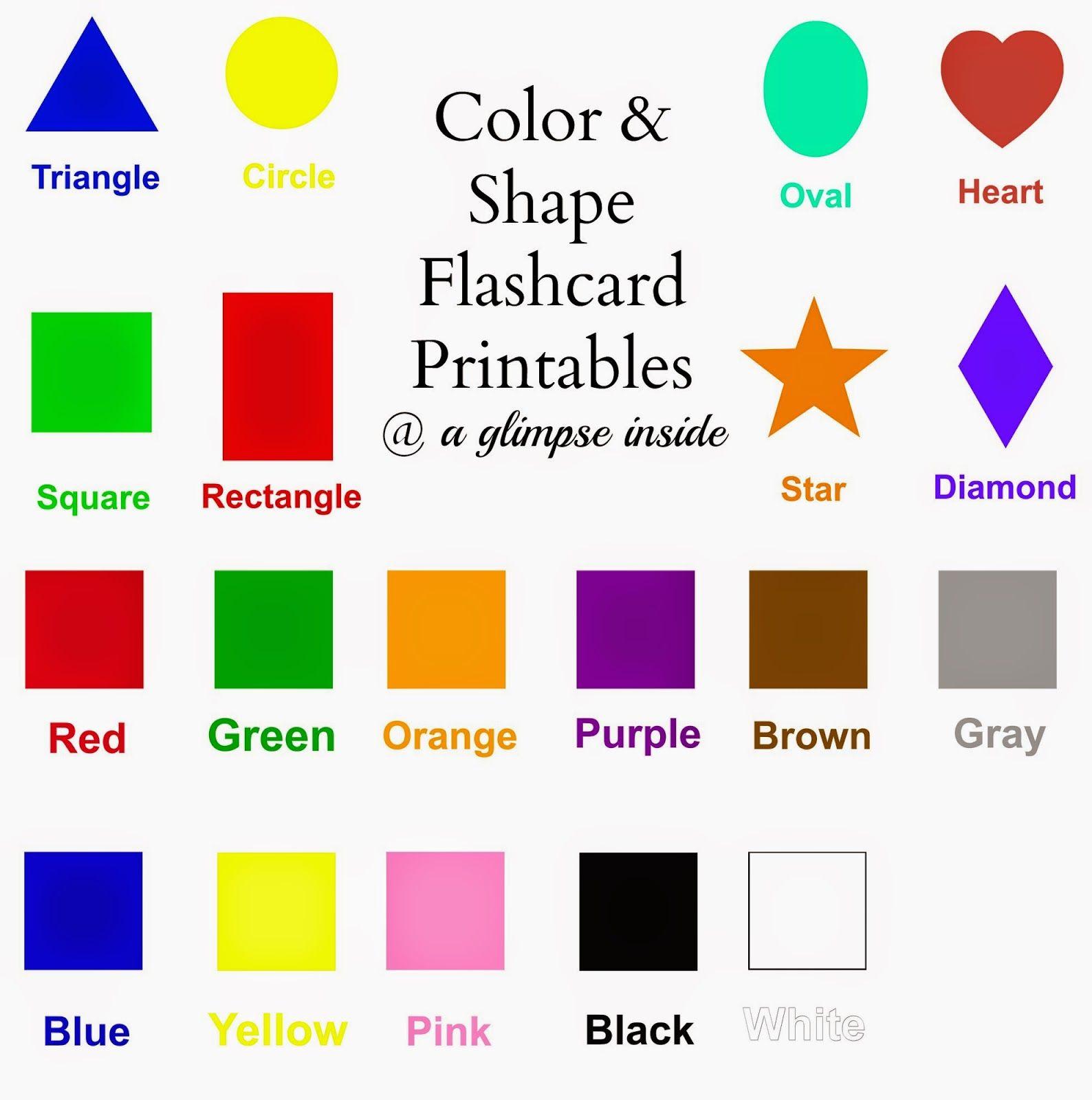 Alphabet Flashcards Printables