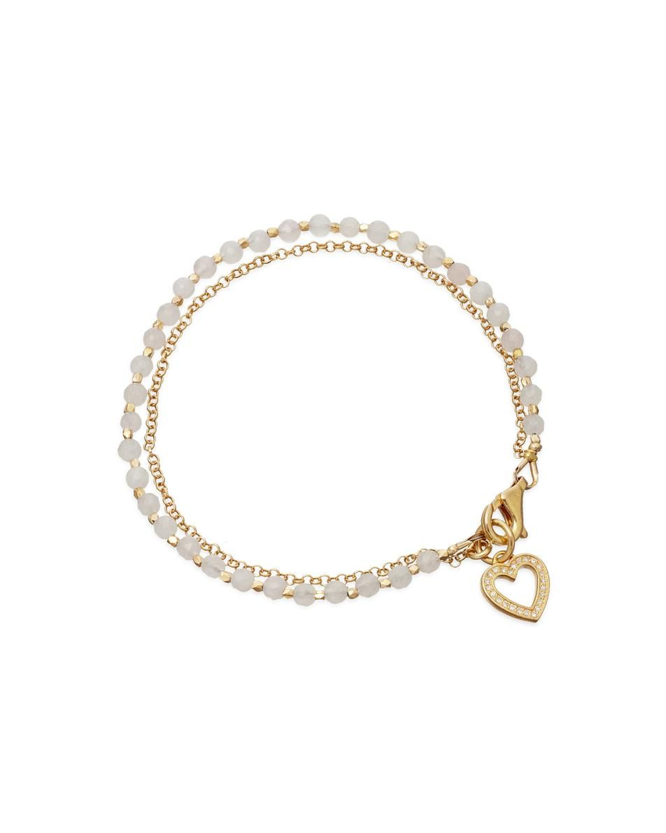 #bridesmaids Heart Friendship Bracelet £195 Astley Clarke for COUTURELAB