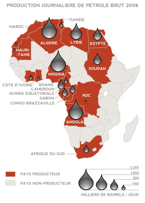 Petrole En Afrique Or Noir Misere Noire Carte Afrique Afrique Histoire Africaine