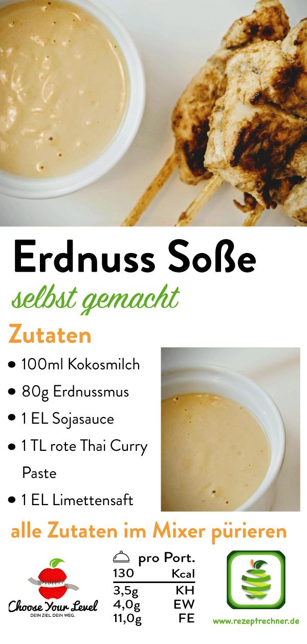 Rezept: Low Carb Hähnchen Saté Spieße   Rezepte, Fodmap ...