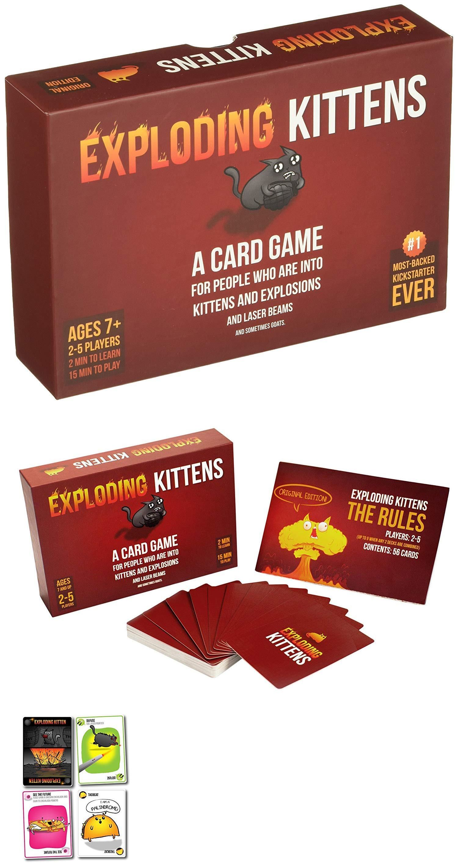 Other Card Games And Poker 2552 Exploding Kittens Original