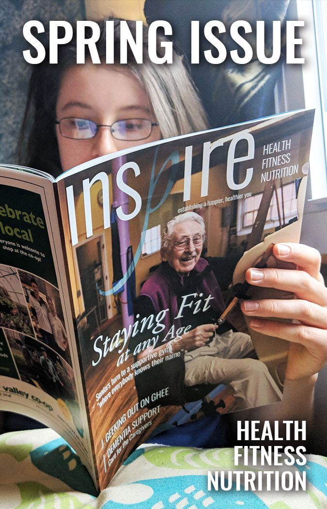 Read Inspire Magazine ONLINE! Follow the link for stories about fitness, health and nutrition!  #INS...