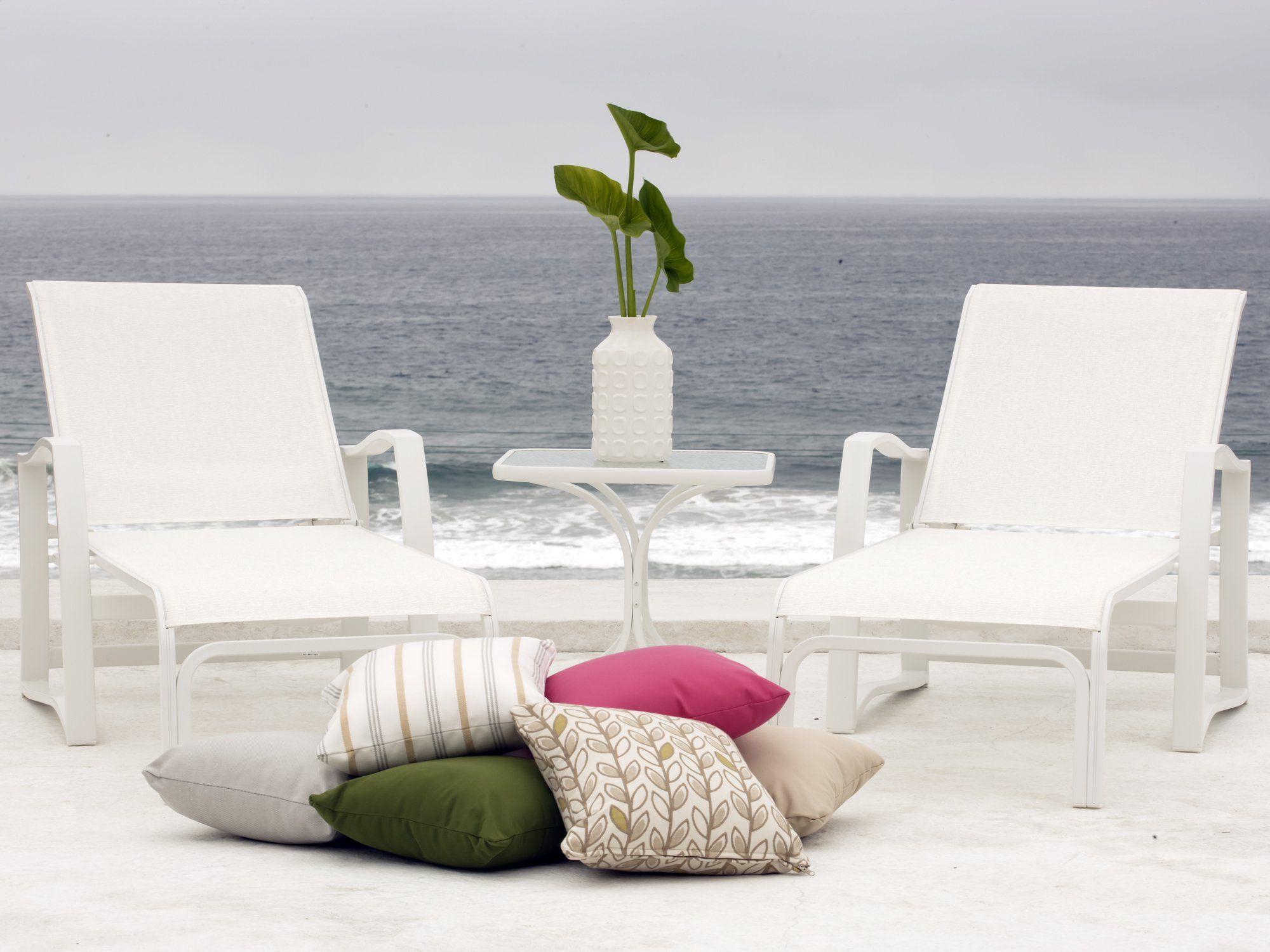 Unique Sling Patio Lounge Chairs