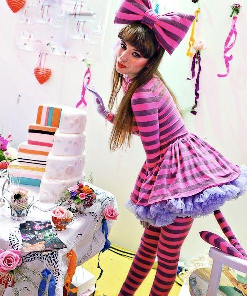 Cheshire Cat Wonderland Party 3 Com Imagens Fantasias