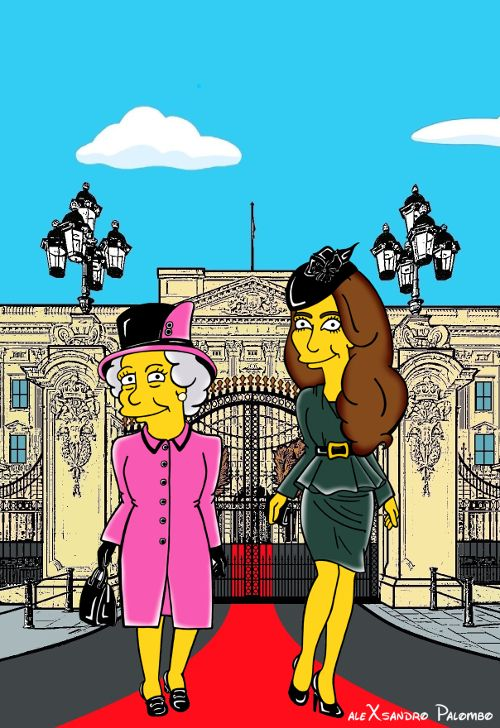 Kate Middleton Is Now A Simpsons Character Princess Kate Middleton Kate Middleton Catherine The Great