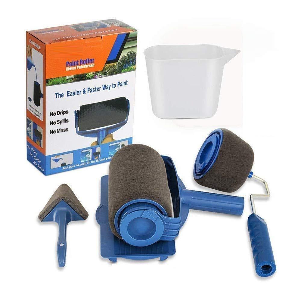 Painte Multifunctional Paint Roller Pro Kit Paint Roller Roller Brush Mop Handle
