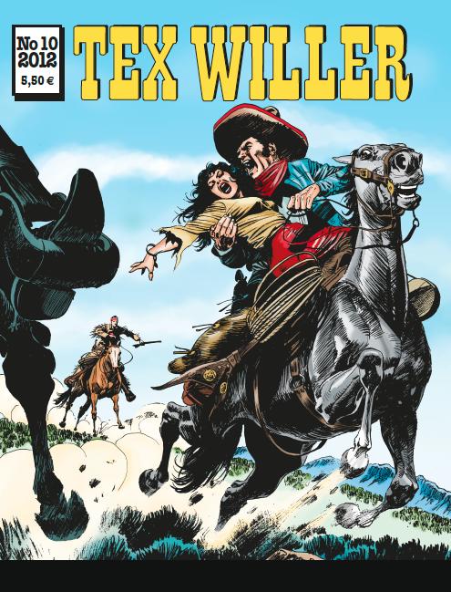 Tex Willer -lehti no 10/2012. #sarjakuva #sarjis #egmont #sarjakuvalehti