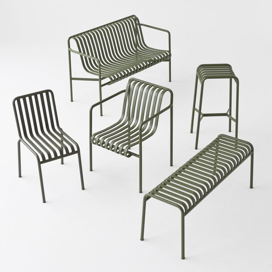 palissade outdoor furniture by studio bouroullec for rh pinterest com