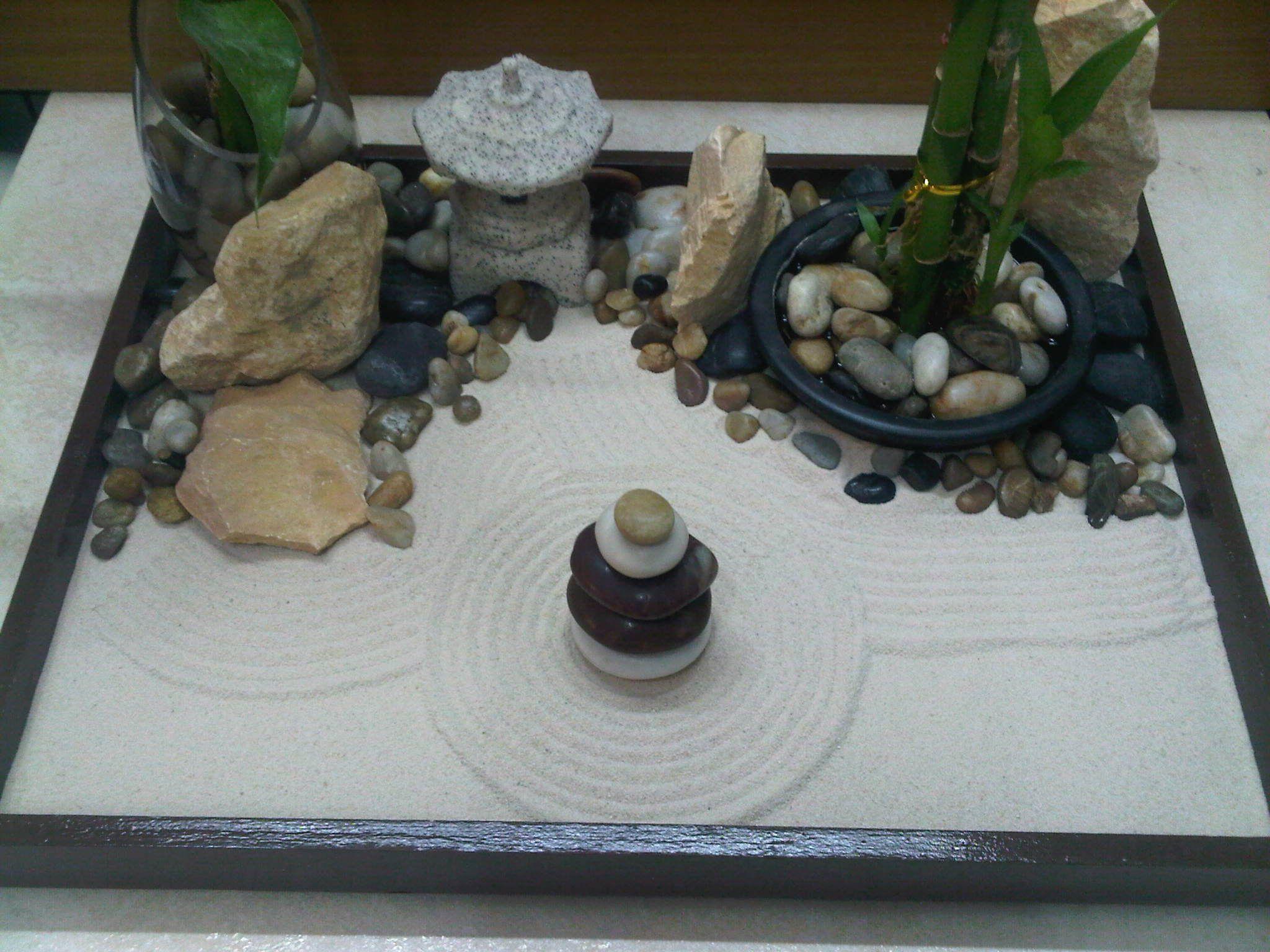 Miniature Zen Garden By Wallzart Zen Garden Mini Zen Garden