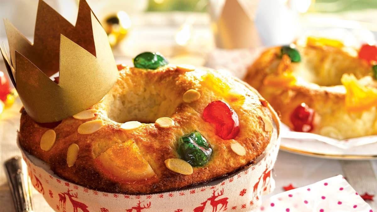 Receta De Roscon De Reyes Casero Facil Y Muy Esponjoso En 2021 Recetas De Cosas Dulces Recetas De Comida Faciles Roscon De Reyes Casero