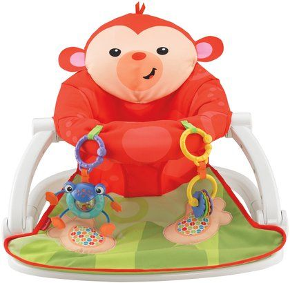 Fisher Price Sit Me Up Floor Seat Monkey Floor Seating Baby