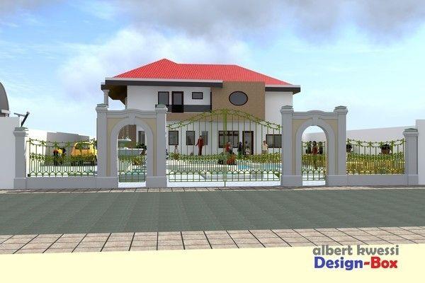 Projet De Construction D Une Villa A Lome Togo Architecture