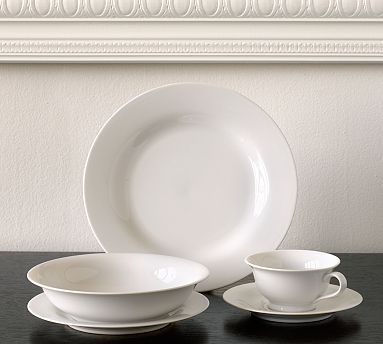 Pb White Dinnerware White Dinnerware Wedding Registry