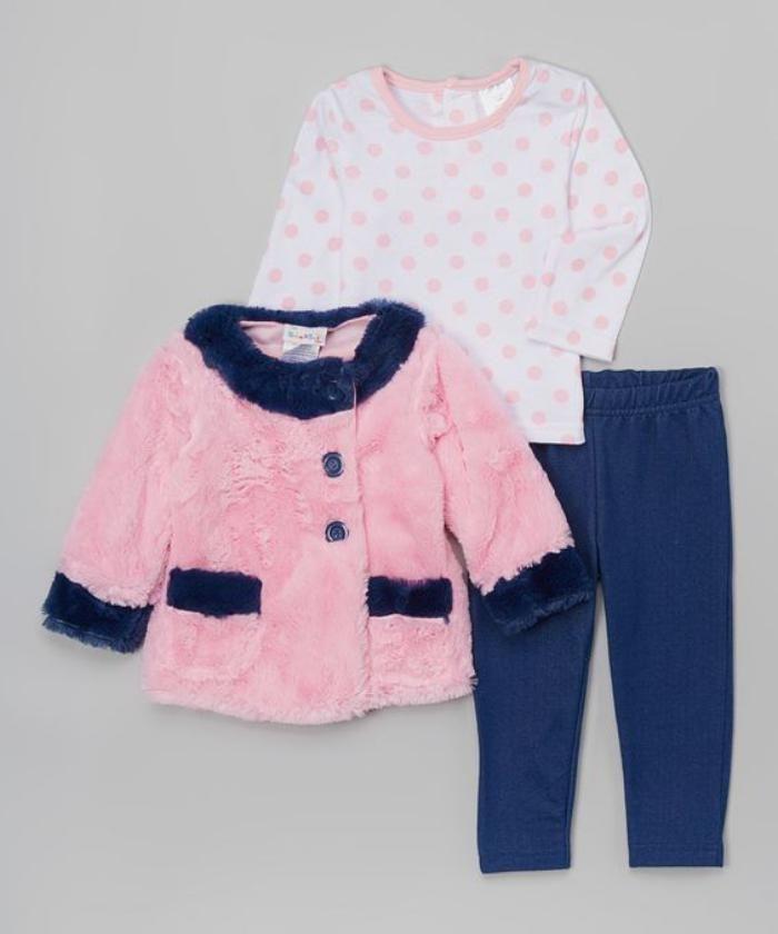 e1c9c132b9714 Le manteau bébé fille en 42 photos mignonnes | couture | Pinterest ...