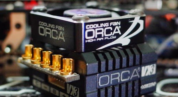ORCA Aluminum High Speed ESC Fan 30mm x 30mm available now. Machines with lightweight aluminum and laser-etched graphics, the fan is suit...
