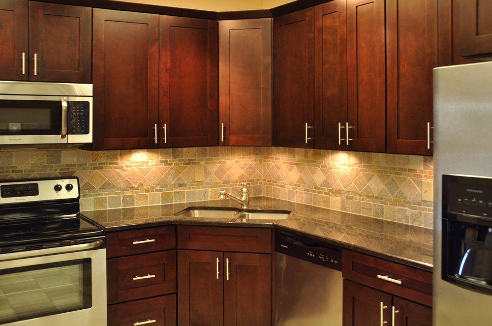 Centex Cabinets Photos Corner Sink Kitchen Contemporary Kitchen Sinks Kitchen Remodel