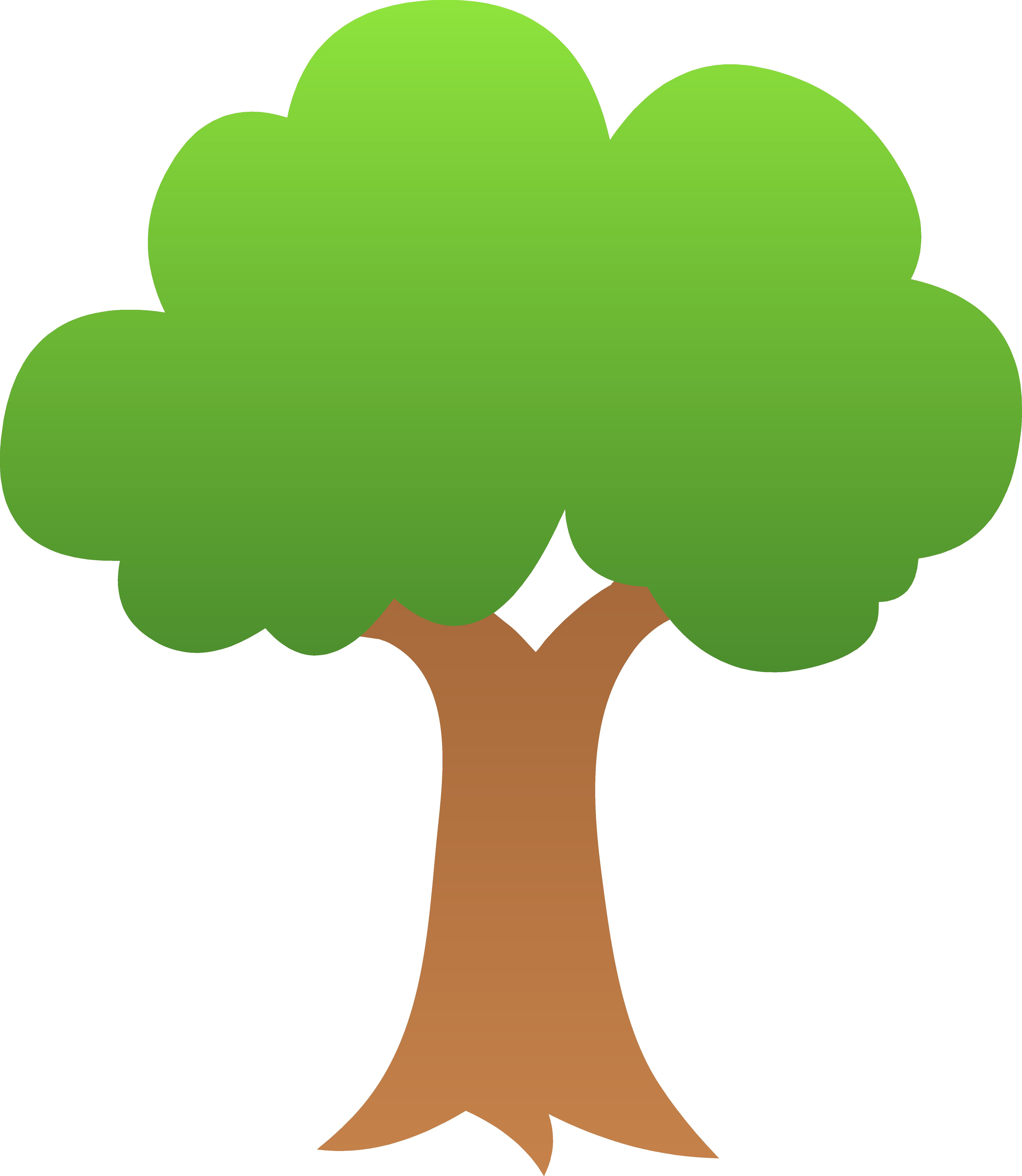 tree-clipart-tree_tiny_green_shaded.png (5486×6309) | music ed ...