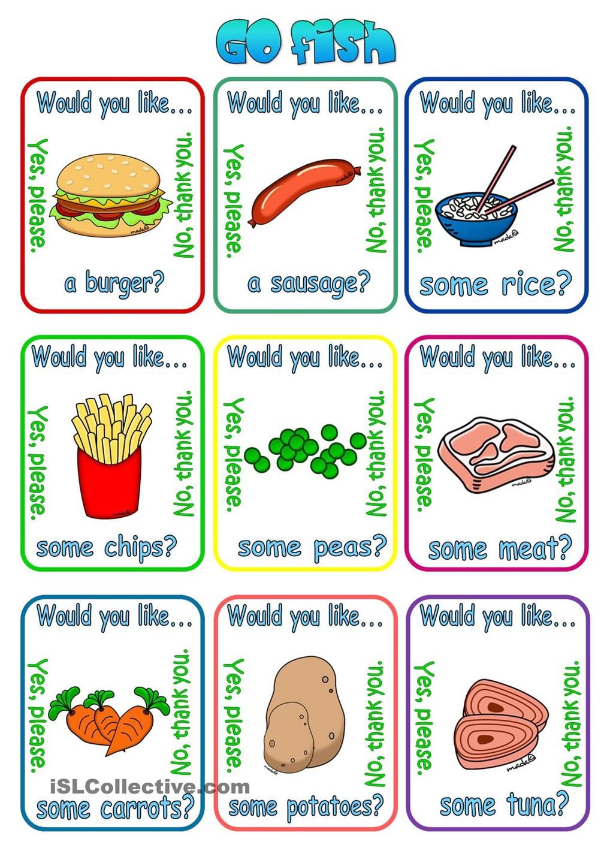 Would you like a/some? + food Learn english, English