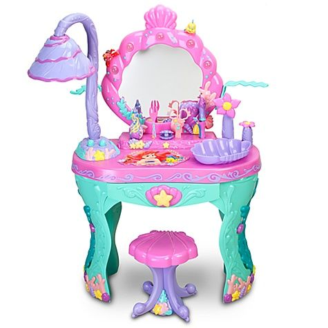 Disney Ariel Magical Talking Salon Vanity Disney Store Disney Princess Toys Disney Shop Disney Princess Ariel