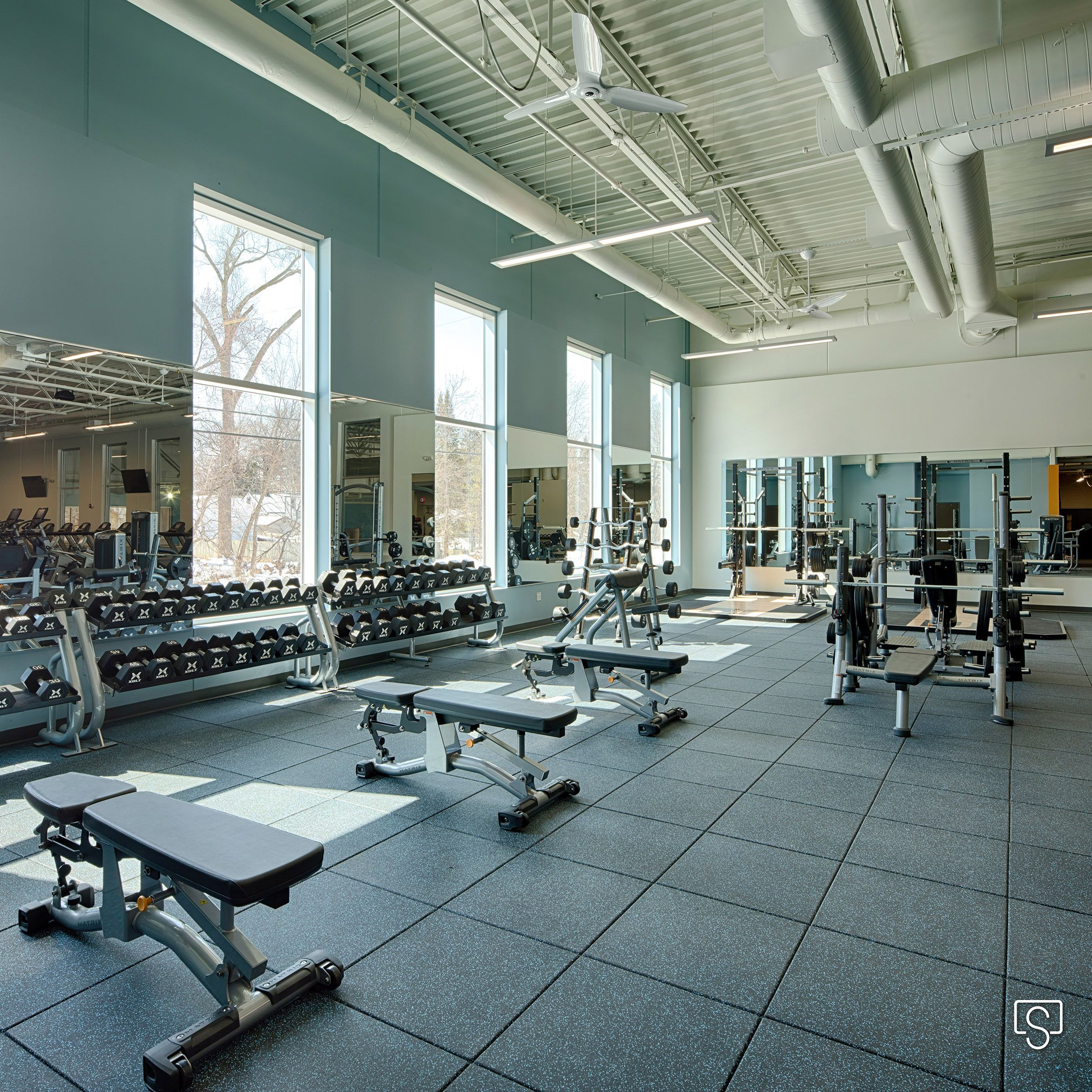 Fitnesscenter Architecture Photography Of The St Paul Jcc Architecture Architecture Photography Business Portrait