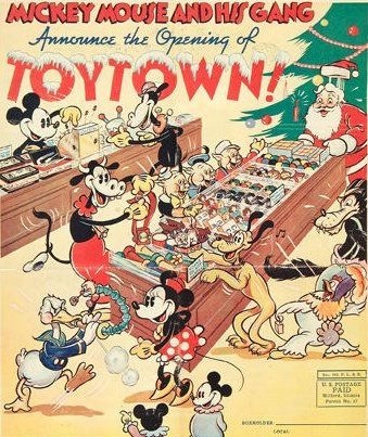 Blog Flyer 1936 Jpg Image Disney Posters Disney Christmas Vintage Disney