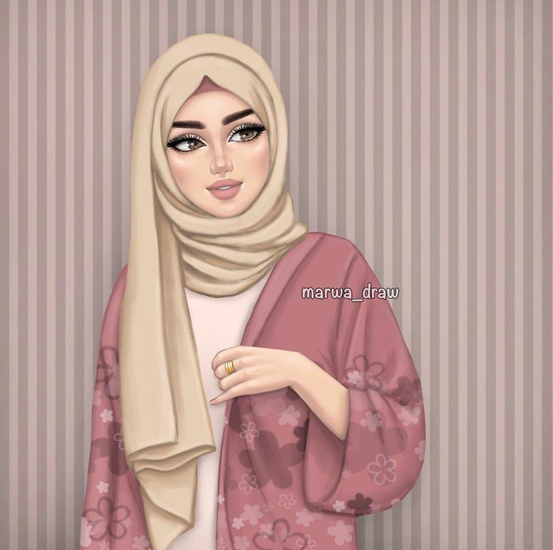 Realize that there are many excellent female lecturers who are passionate about spreading the peaceful message of islam. Pin Di Ayaani Su Animi Disegni Di Celebrita Illustrazione Carina Hijab