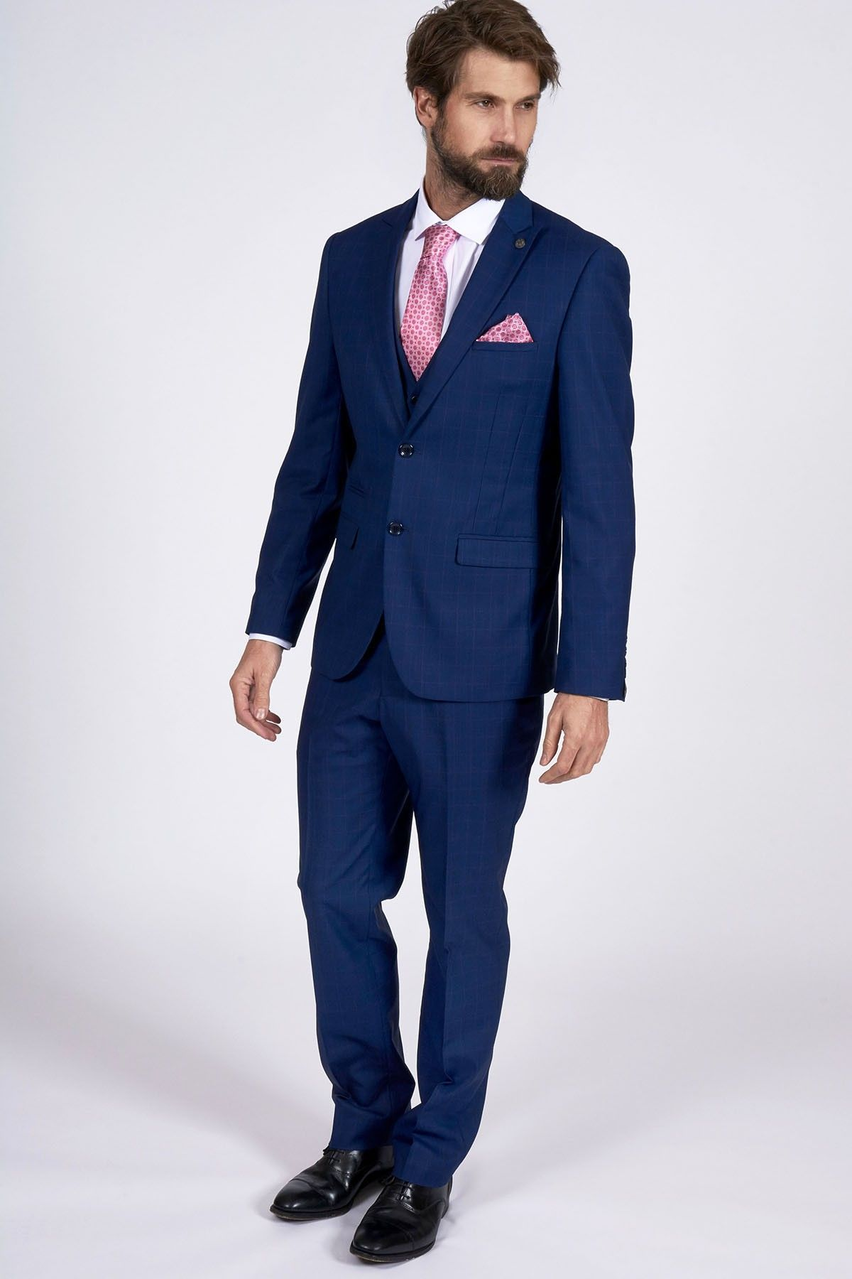 Royal Blue Suit | Marc Darcy | Designer | 3 Piece Suit | Andy ...