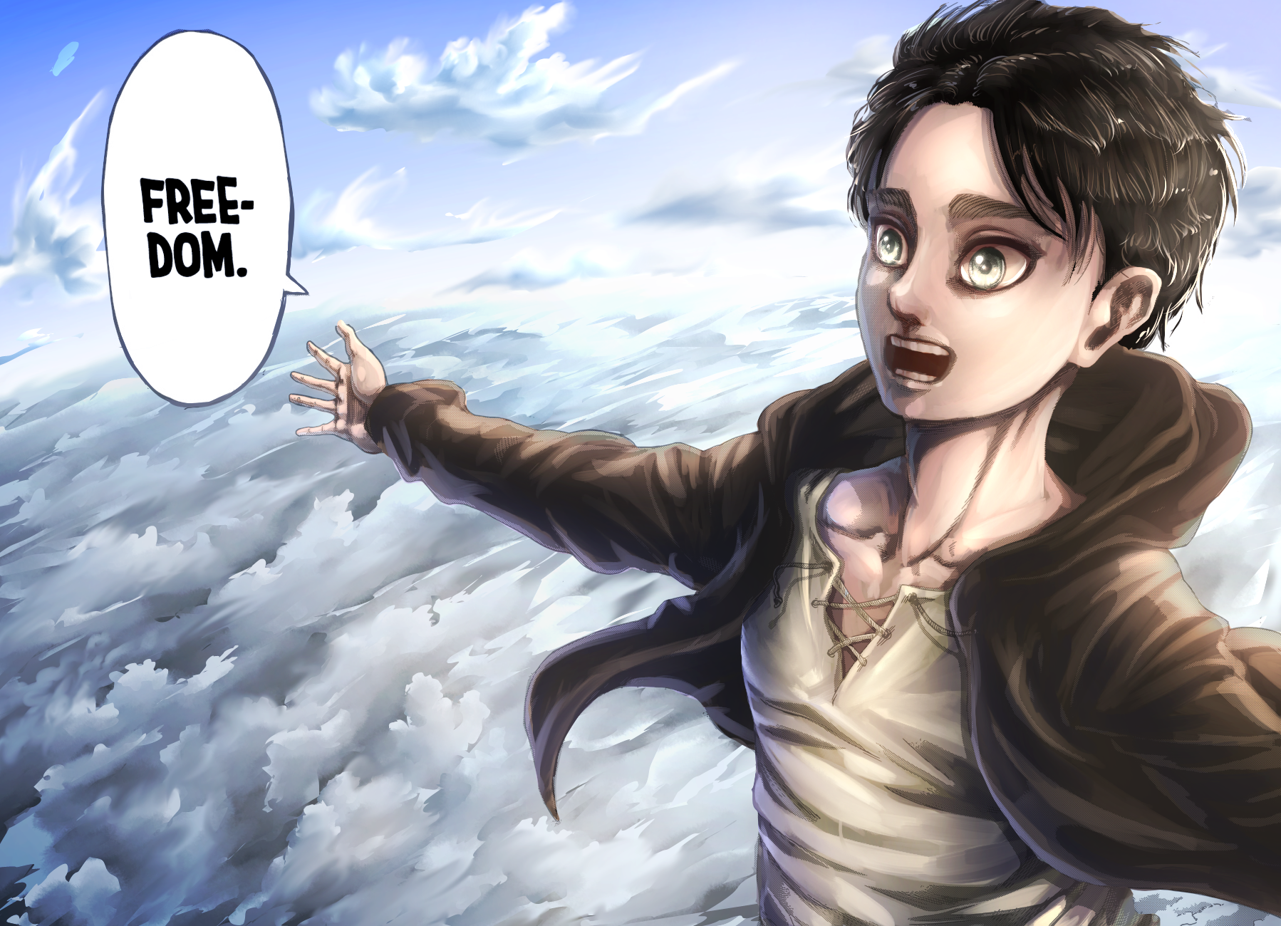 FlameGraphics - Arts! on Twitter in 2020   Attack on titan ...