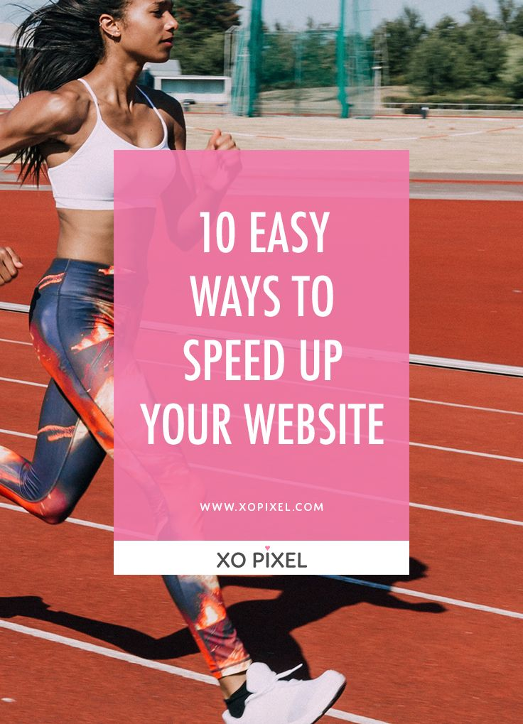 This article features ten easy ways to speed up your website. Make your website speed a top priority to provide a quality user experience for your visitors.