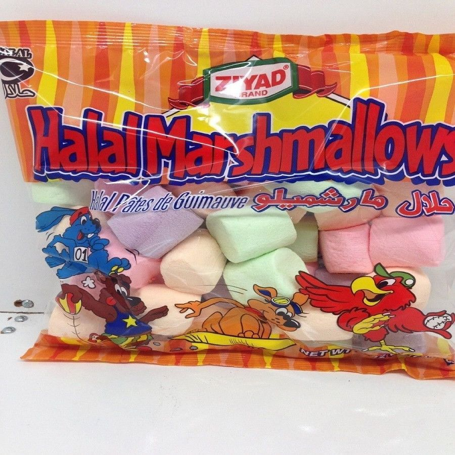 Ziyad Halal Flavored Marshmallows, 8.82 Ounce #flavoredmarshmallows
