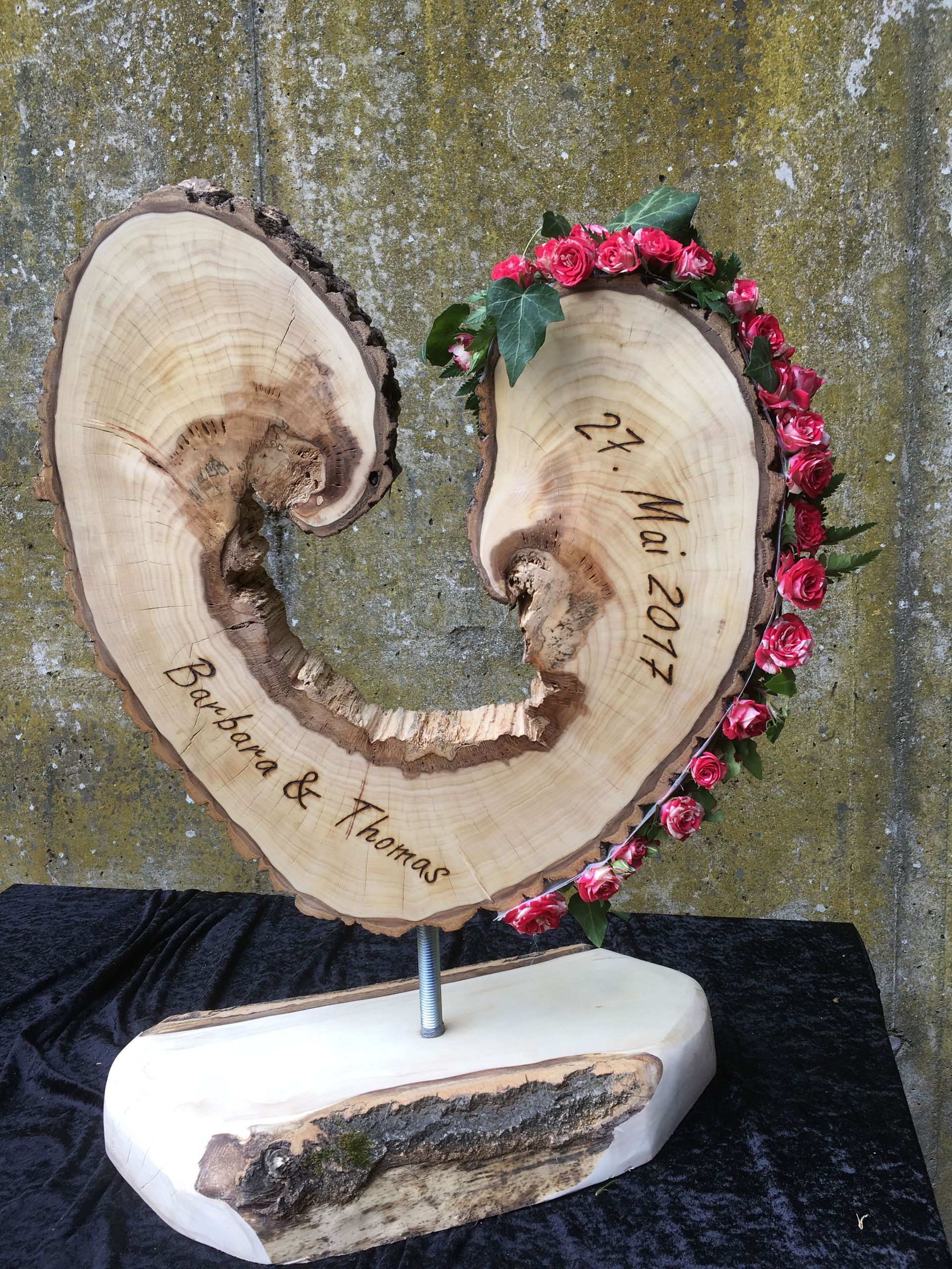 Hochzeitsgeschenk Aus Holz Dekoration Aus Holz Personalisierte