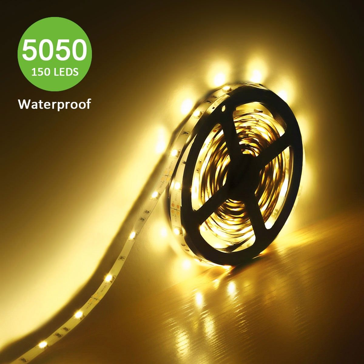 12V Waterproof Led Light Strips Impressive 12V Flexible Led Strip Lights Warm White 150 Units 5050 Leds 2018