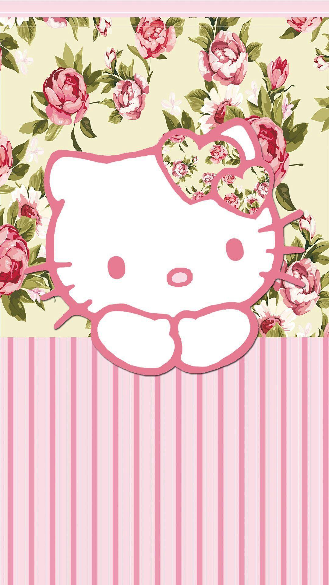 Wonderful Wallpaper Hello Kitty Floral - 371fd05bd8215f5d953b491e6ae96c9d  Image_78924.jpg
