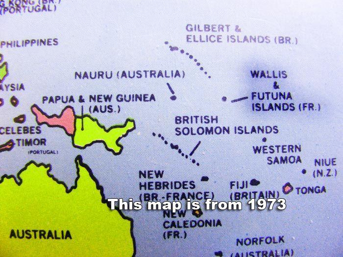 Wallis Island Image Map Showing Wallis And Futuna Islands - Wallis and futuna map