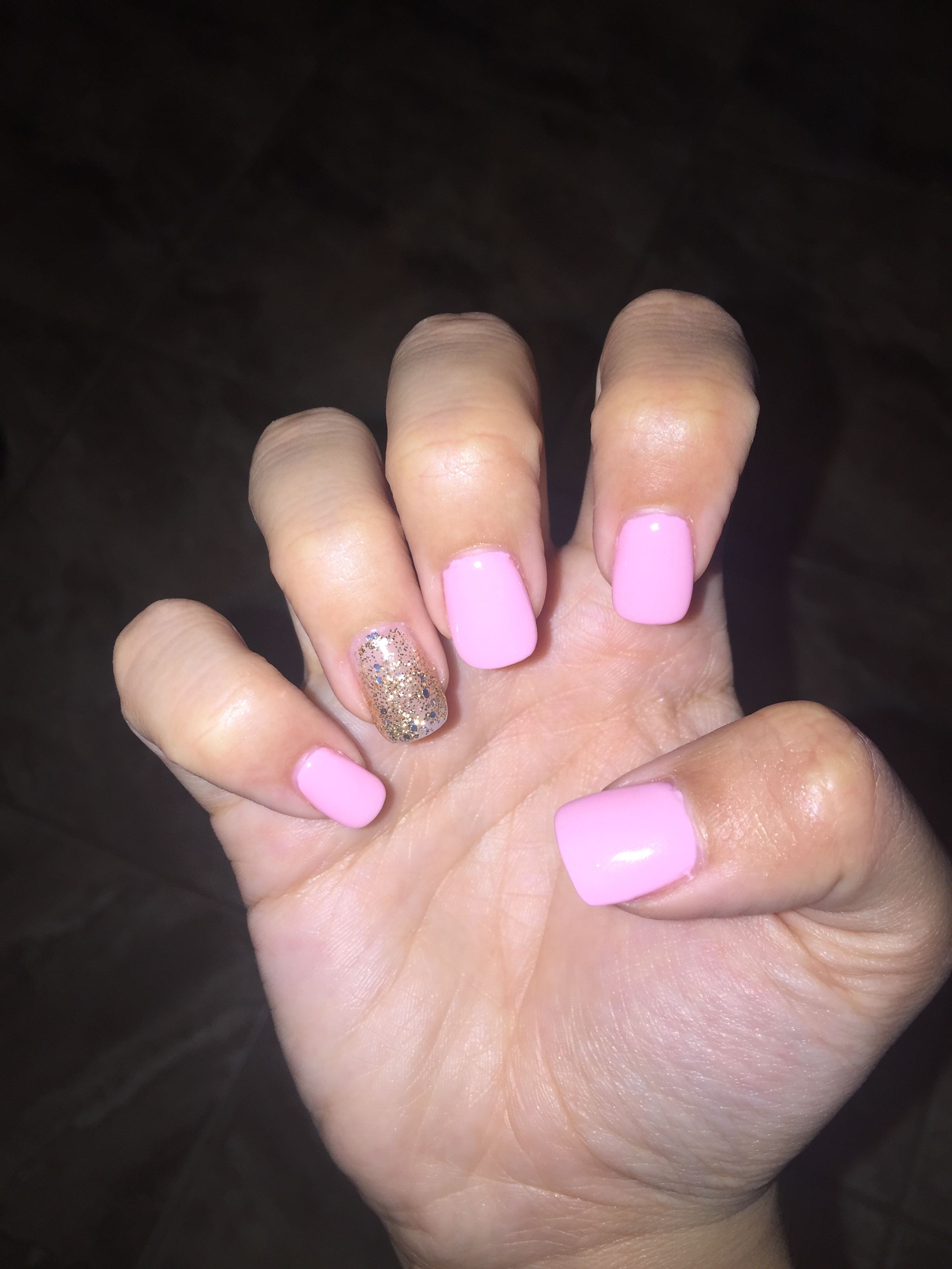 20 Blush Nails With Glitter Pictures And Ideas On Meta Networks