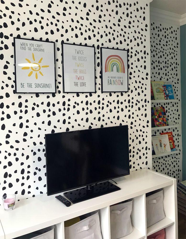 stencil wall art uk